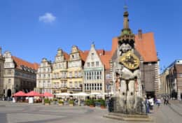 Marktplatz mit Roland