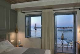 VENETIAN HARBOUR VIEW WITH BALCONY -Elia Zampeliou-Elia Hotels-Group