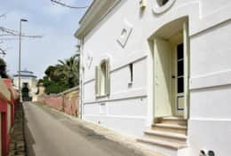Grecale - front of the house - Leuca - Salento