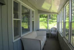 Bass Cottage Screened in Porch
