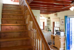 Stairs to living room