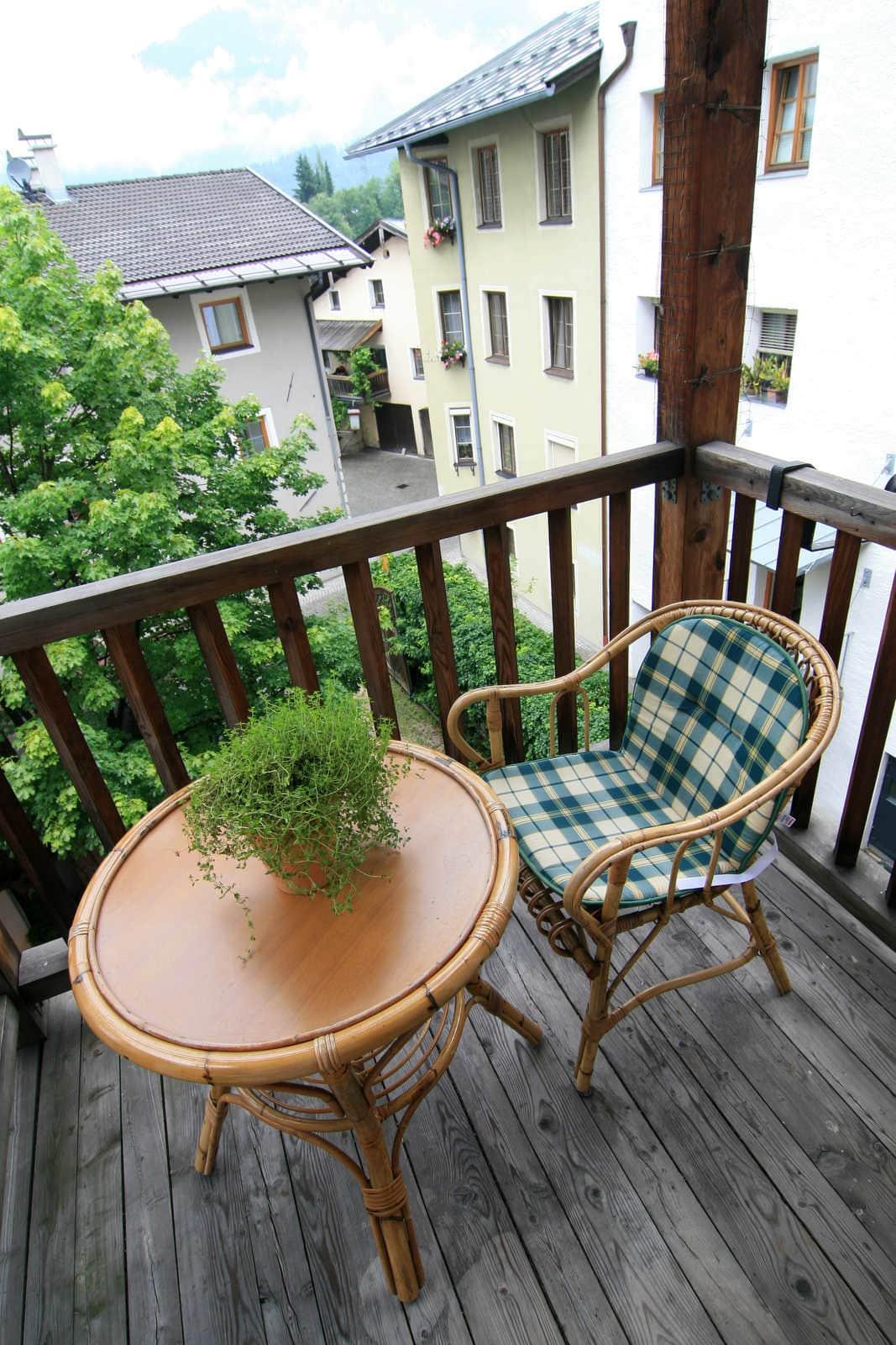 Ansprechend Mini Balkon Dekoration Von Mini-balkon
