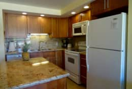 Fully equipped, remodeled kitchen
