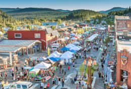 Meet the locals and get a taste of community at Truckee Thursdays during Summer!