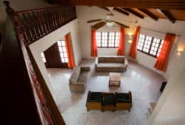 Living room seen from 1st floor