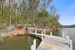Moor your boat - The River House Gipsy Point - Good House Holiday Rentals