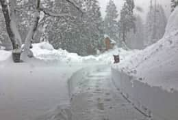 Snow in Yosemite West 1