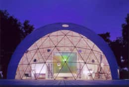 Asheville Glamping- Dome 3 - The Mega Dome