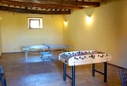 Borgo Trevine, playroom at the agriturismo