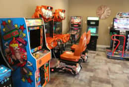 Incredible game room for fun
