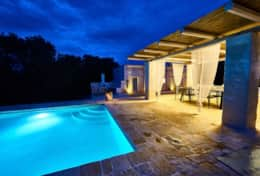 Villa Teia stunning cottage for vacation with heated pool in Ostuni Puglia  - 47
