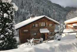 Chalet from Street