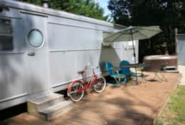 Silver Bettie Exterior Asheville Glamping