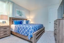 Fourth Bedroom with King size bed