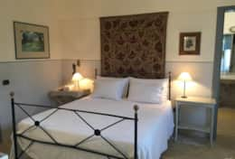 Le More - grey double bedroom - Spongano - Salento