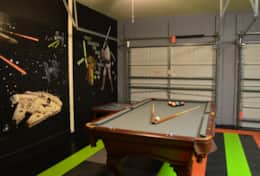 Star Wars themed Game room