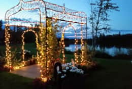 Lighted Arbor