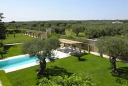 Casino Pisanelli MH - overlooking the pool and garden - Ruffano - Salento