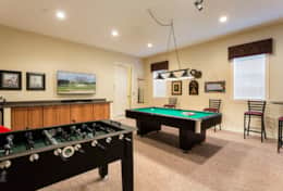 Exclusive Private Villas, 5 Bedroom Classy Vacation Home in Florida (E191) - Game Room-1