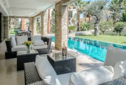 Large luxury villa on Cap Ferrat