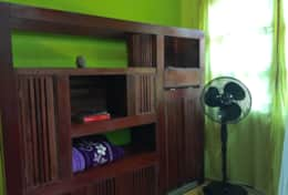Casa Grande: storage and fan