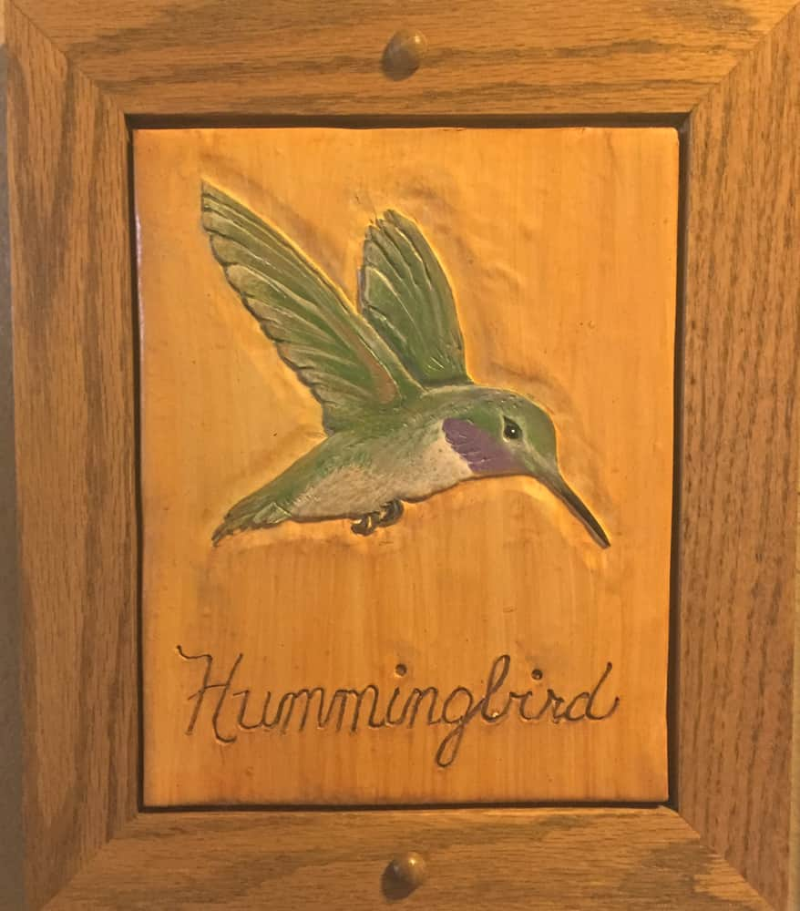 HummingbirdSign