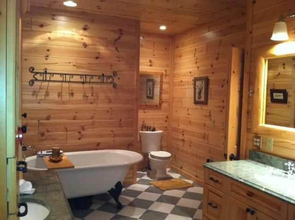 Master Bath In Harbor Springs Vacation Rental Home