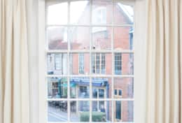 Bedroom view of Byfords