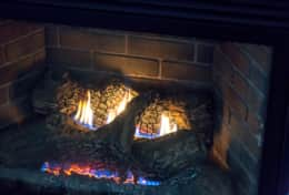 Gas Log Fire