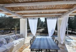 Villa Teia stunning cottage for vacation with heated pool in Ostuni Puglia  - 36