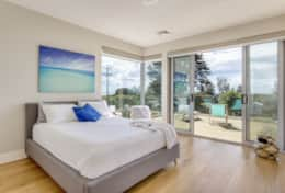 The Sandcastle - Airy Master Bedroom - Good House Holiday Rentals