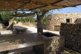 Le Greche - Petrea - outdoor kitchen - Torre Vado - Salento