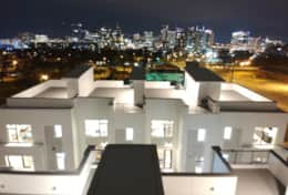 Incredible views of Downtown Nashville from your private rooftop deck! Walk to the Gulch!