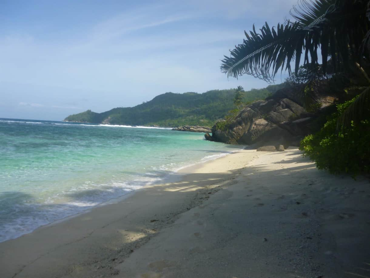 View of Anse Forbans Beach