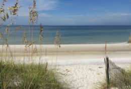 Beautiful Cape San Blas beaches.