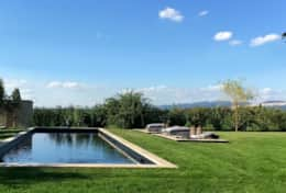 Large pool at the Villa Spello