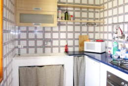 Casa Eolia - equipped kitchen - Castro Marina