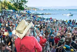 Free concerts in Tahoe City
