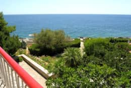 Casa Eolia - view from 1st floor terrace - Castro Marina