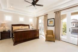 Exclusive Private Villas, 5 Bedroom Classy Vacation Home in Florida (E191) - Master Bed 2