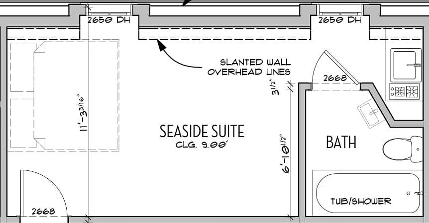 seaside suite
