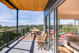 L'Ciabot Rye Front Deck - Good House Holiday Rentals Mornington Peninsula