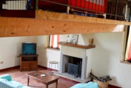 Badia extra cottage loft and living room