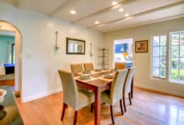 Enjoy Family Meals in a Separate Dining Room, with Easy Kitchen Access