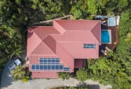 Arial View of the property
