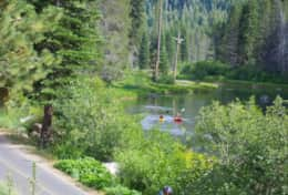 Bike Trail along Truckee River